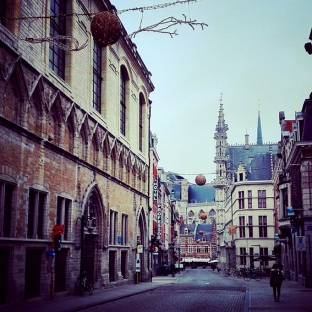 Winter in Leuven