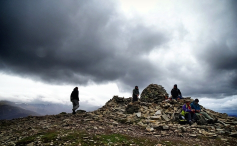 Meall a' Bhuachaille shelter