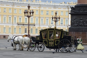 With all it's classical facades and retro-feel, Saint Petersburg has more than once appeared to me as a canal clad, grim Vienna.