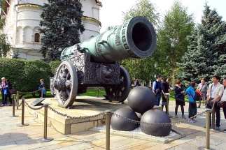 Inside the Kremlin: Tsar canon